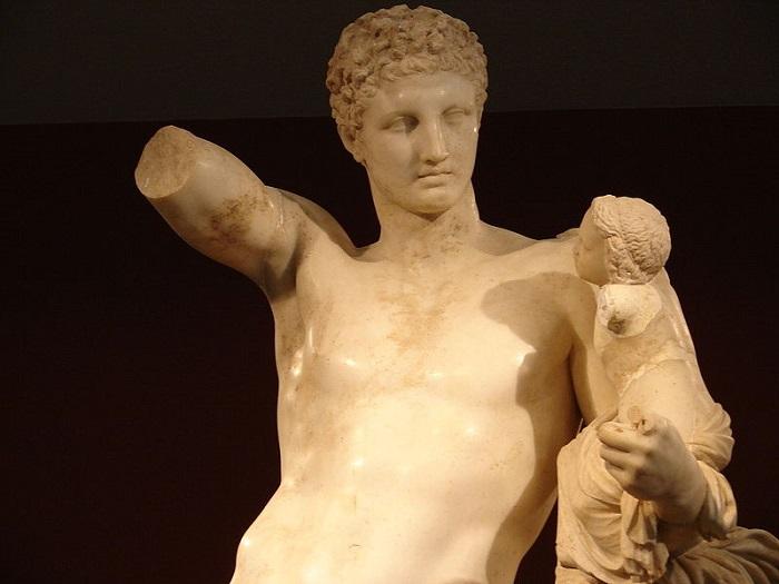 Hermes of Praxiteles