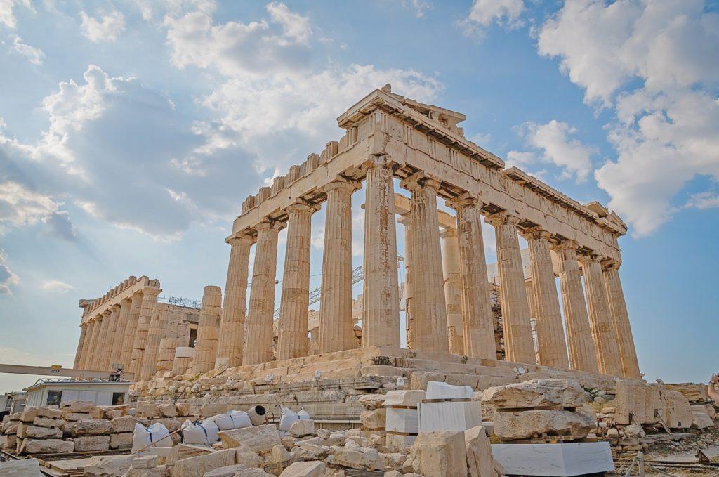 Greek Acropolis Pathenon Athens