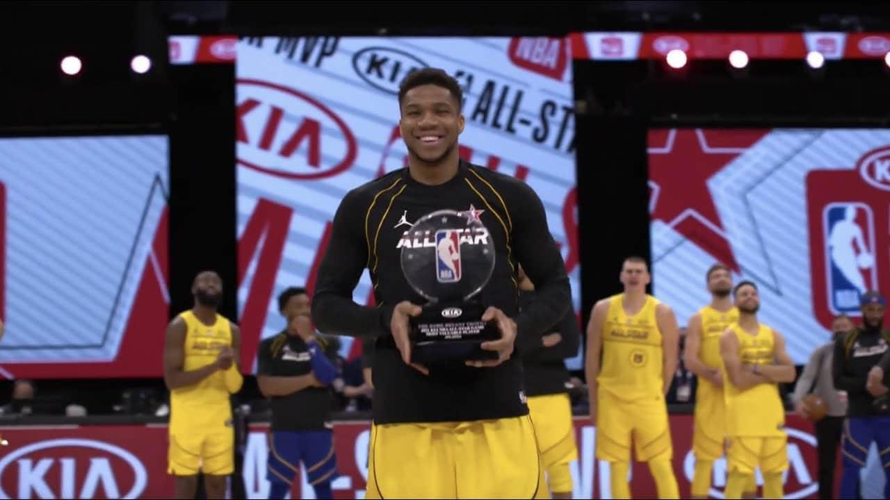Giannis Antetokounmpo Named 2021 All Star MVP