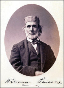 "Hiram Powers - sculptor of ""The Greek Slave"""