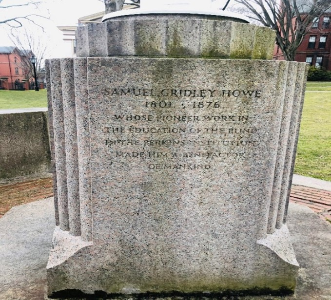 Monument to Samuel Gridley Howe