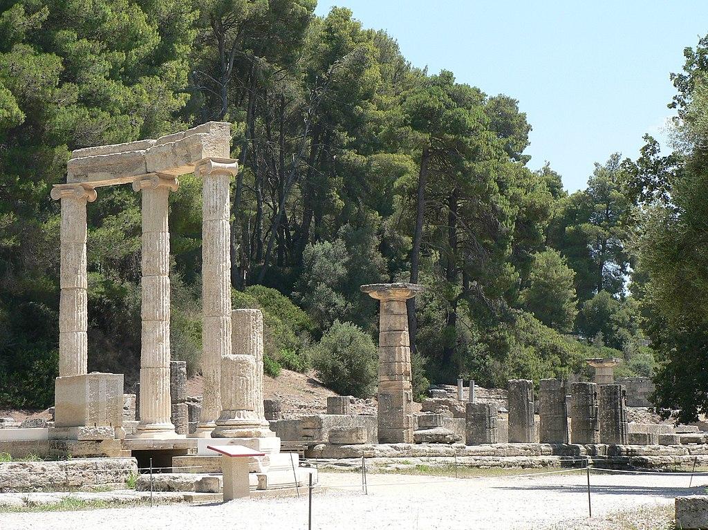 bronze bull ancient Olympia