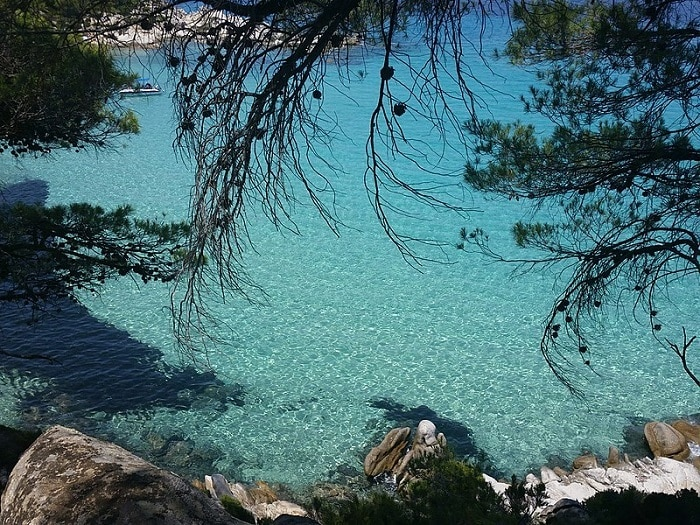 A secret beach in Greece