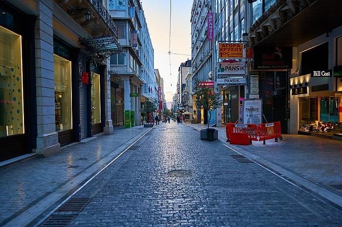 Coronavirus lockdown in Greece