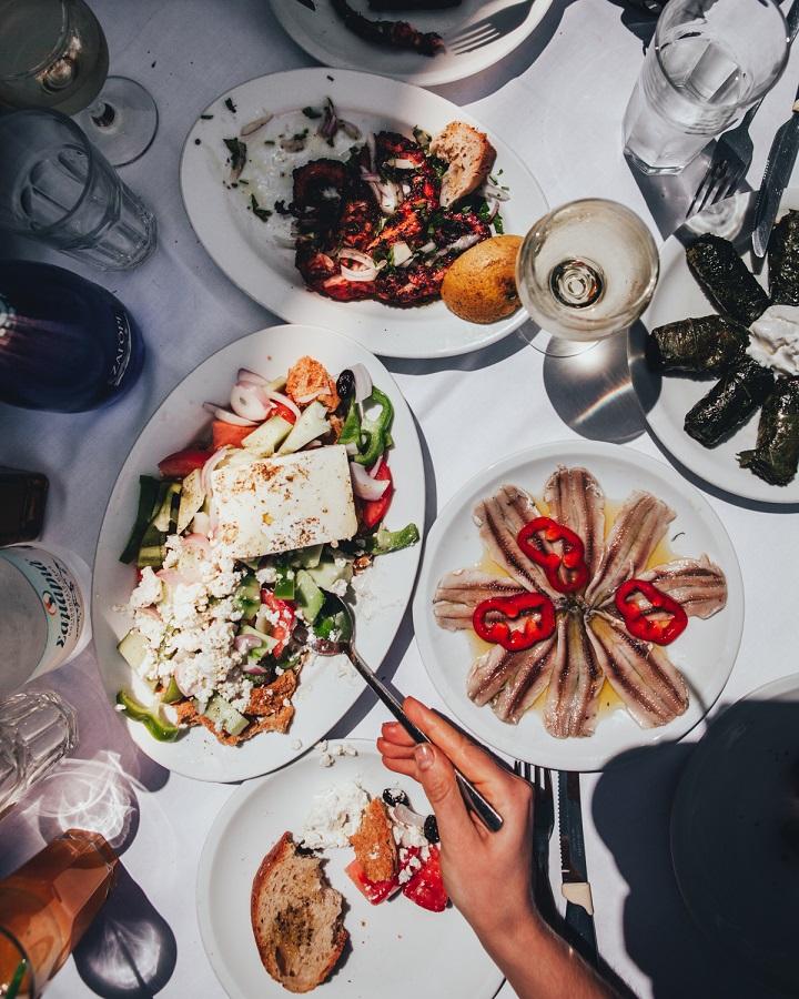 Jenni got a real taste of traditional Greek cuisine during her stay at Milia. Photo credits: Jenni Häyrinen Instagram @liemessa