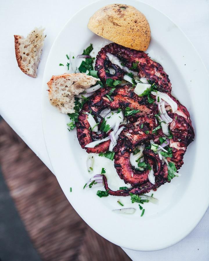 ...and so is grilled octopus too.. Photo credits: Jenni Häyrinen Instagram @liemessa
