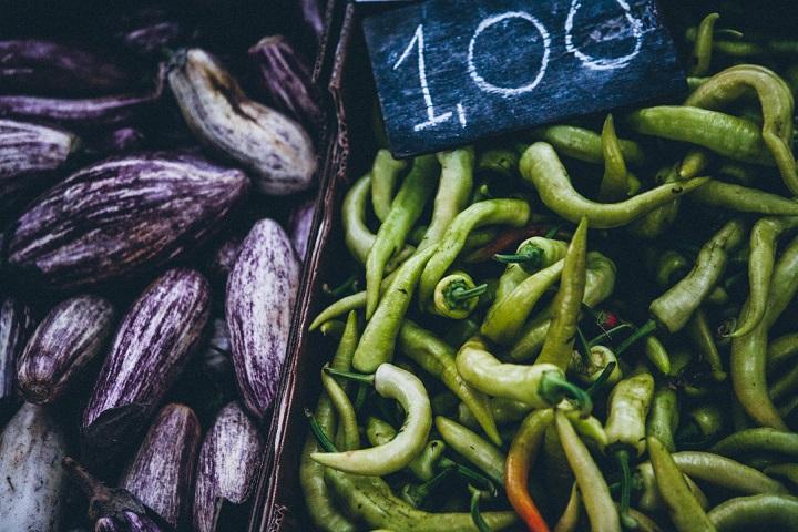 Mediterranean vegetables are the base of Greek cuisine. Photo credits: Jenni Häyrinen Instagram @liemessa