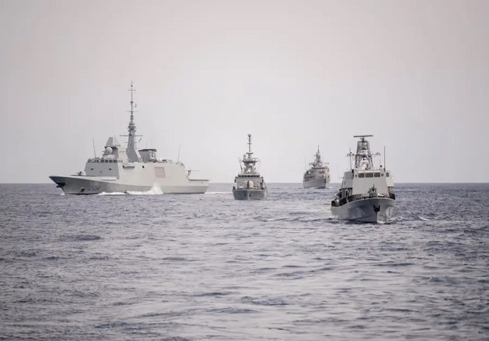 Greece Israel naval exercise