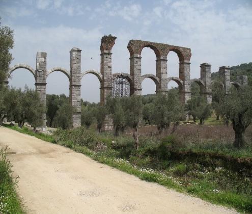 Roman aqueduct on Lesvos