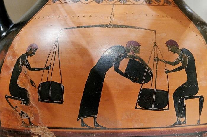 Market economy ancient Greece