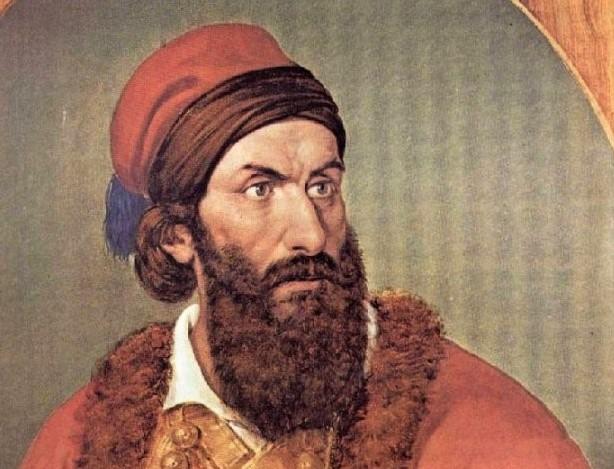 Papaflessas Greek warrior Greece war of independence