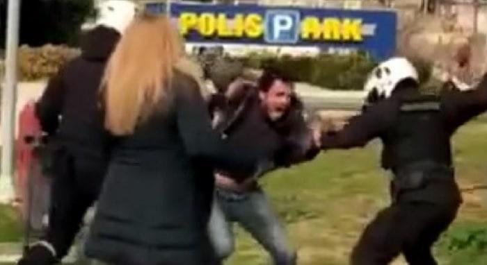 Greek police accused of brutality