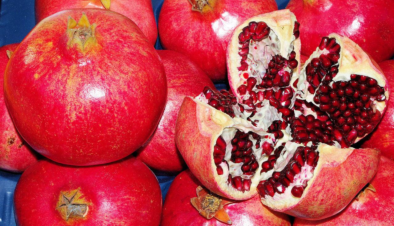 pomegranate was an ancient greek aphrodisiac food