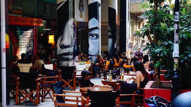 Exarcheia Athens Greece
