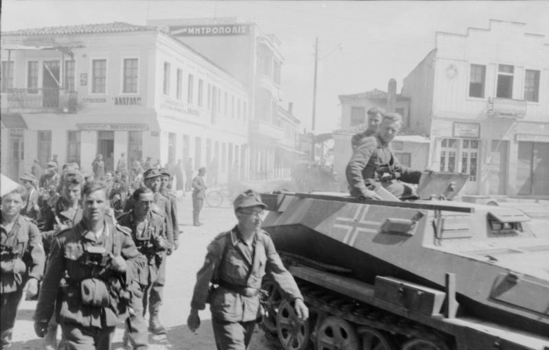 German soldiers Athens