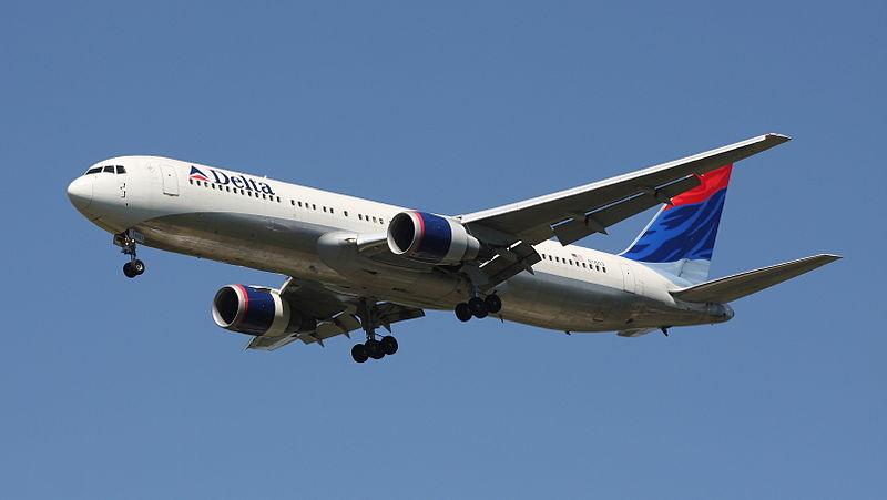 Delta Greece flight