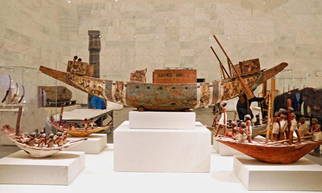 Egyptian boats