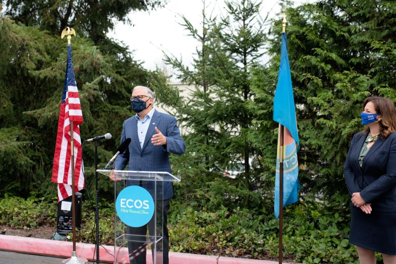 ECOS welcomes Gov Inslee