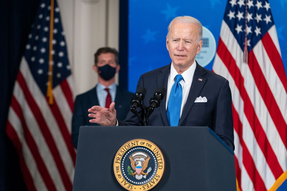 Biden on coronavirus vaccine rollout