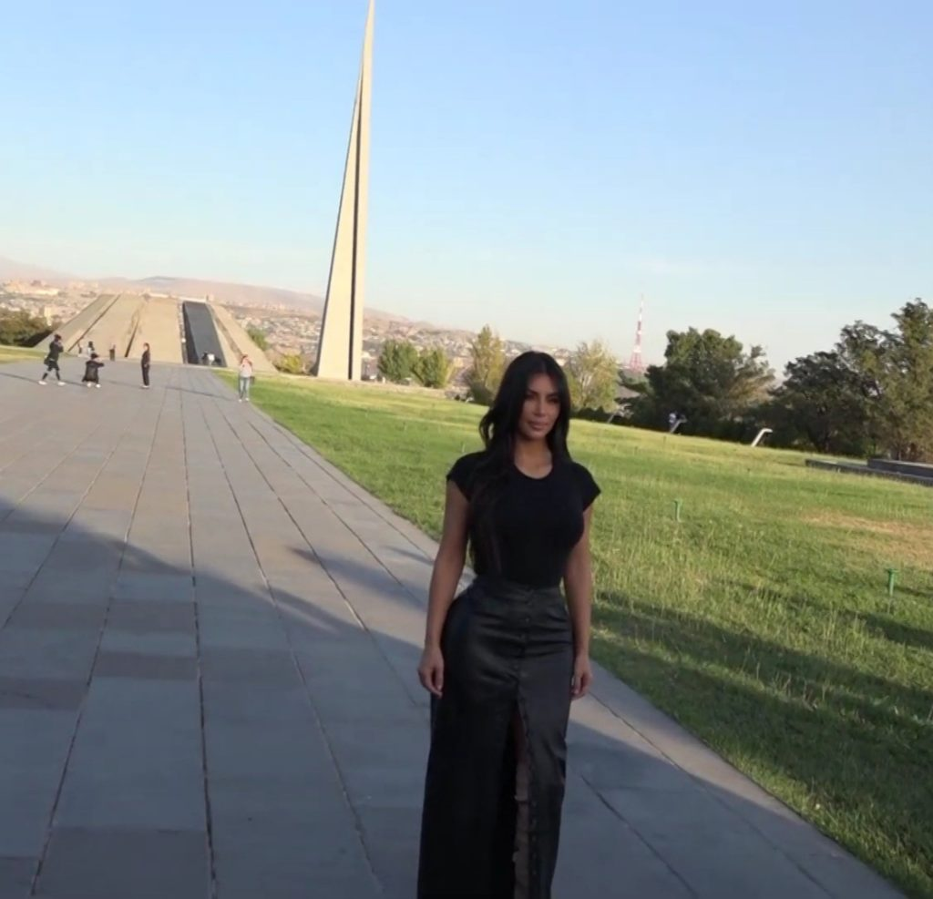 kim kardashian armenian genocide