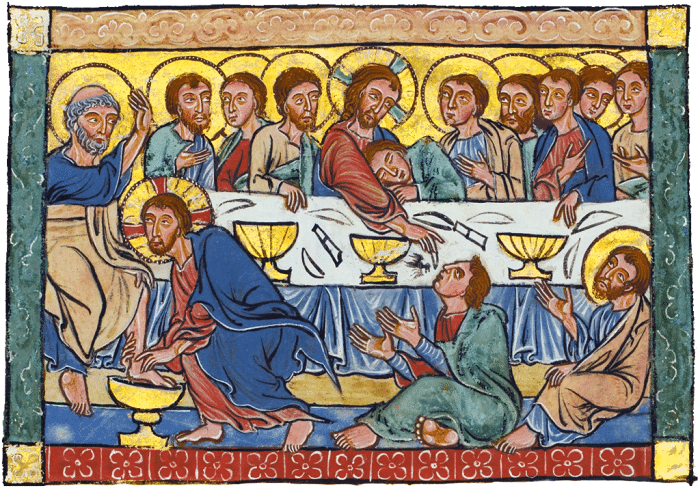Last Supper on Holy Thursday