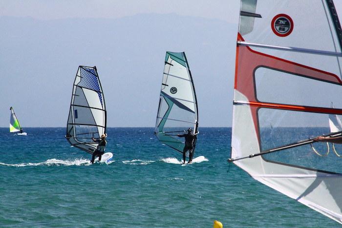 Greek Islands windsurfing
