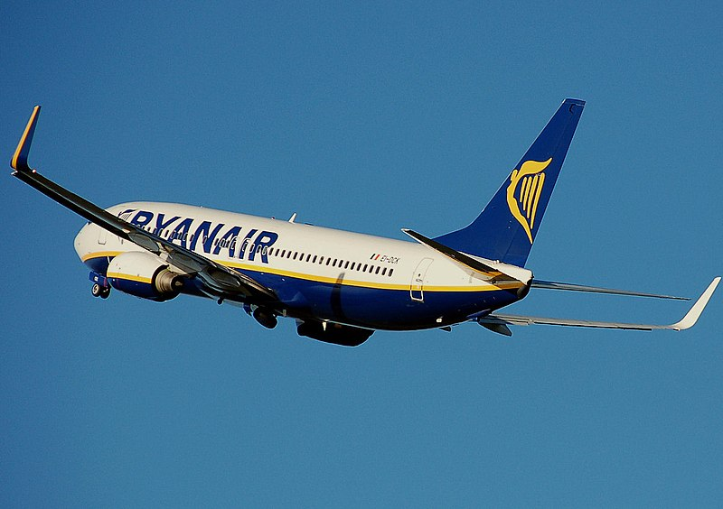 Ryan Air Greek flights
