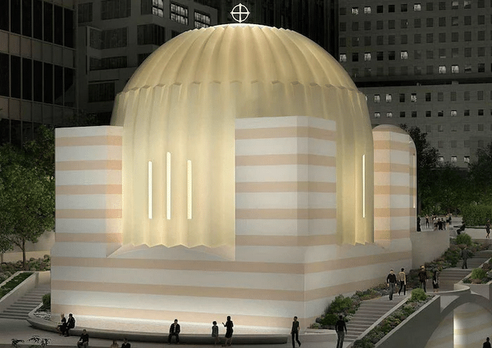 Saint Nicholas Shrine to be Clad in Same Marble as the Parthenon