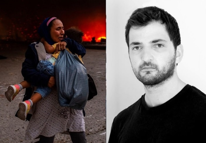 Greek Photographer Wins Award For Refugee Camp Photos