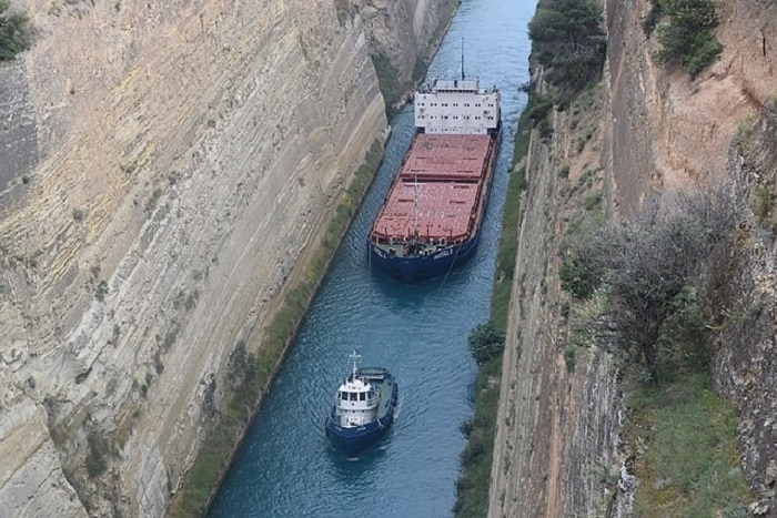 Greece Vows to Reopen Corinth Canal After Landslides