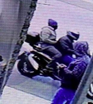 Footage of the shooters of George Karaivaz.