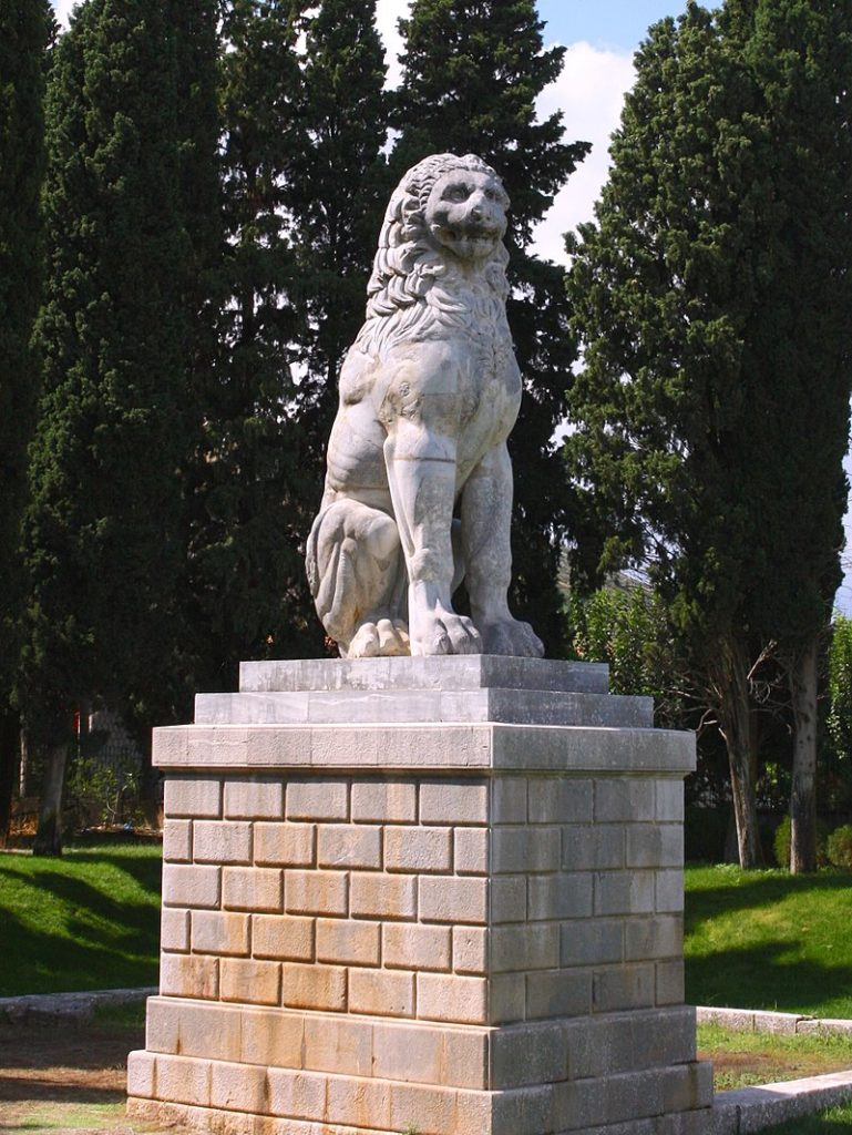 Το λιοντάρι της Χαριόνειας