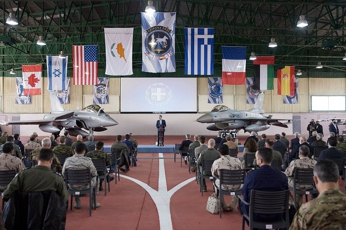 Greece military exercise