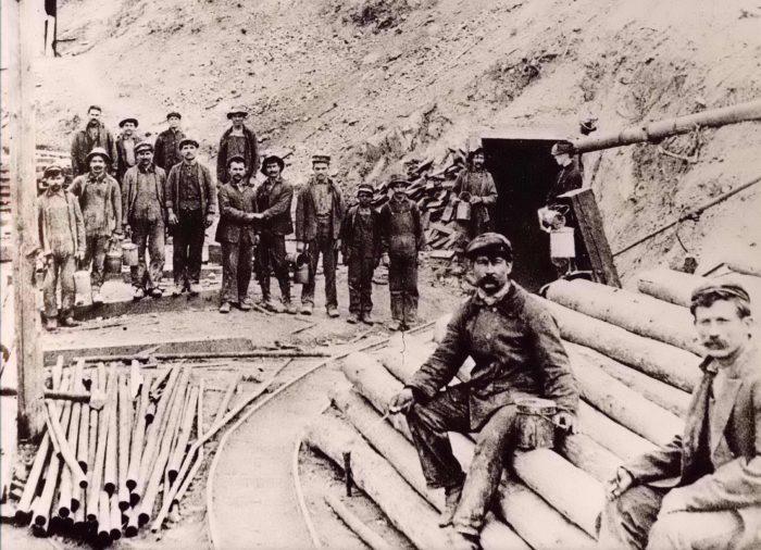 Greek Miners in Utah