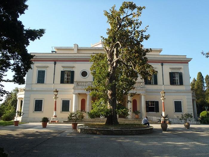 Mon Repos in Corfu where Philip was born