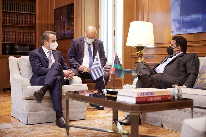 Greece Libya maritime talks