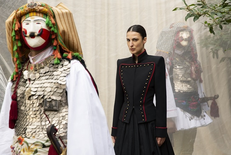 Greek Clothing Designer Inspired By Fashion of 1821