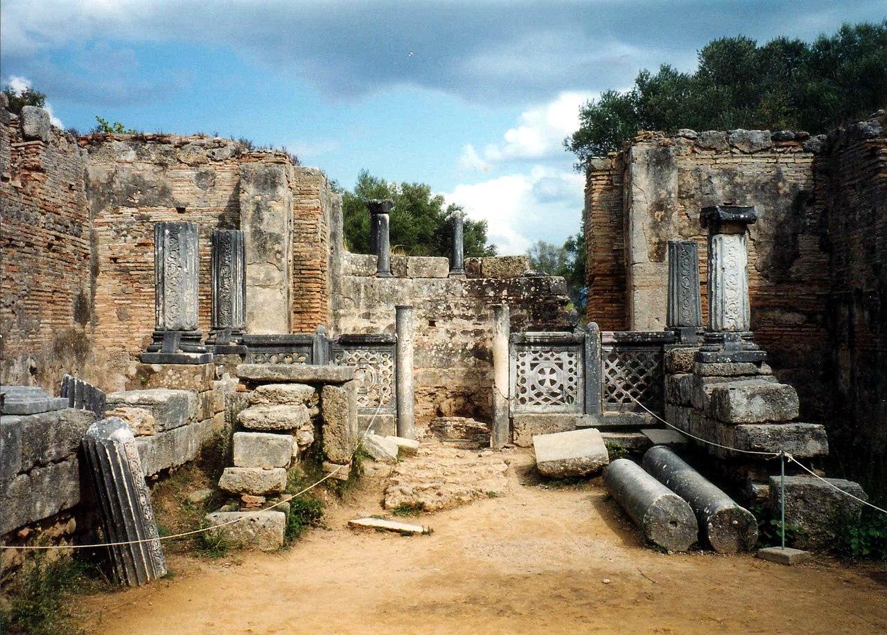 Workshop of marble sculptor, Phidias