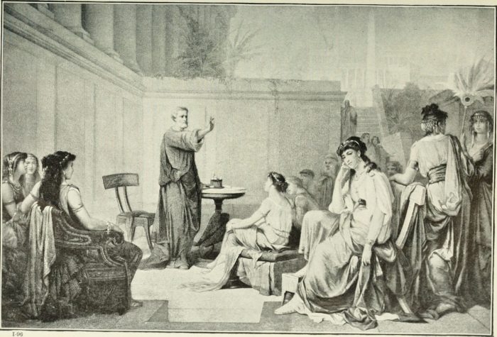 Pythagoras Greek philosopher