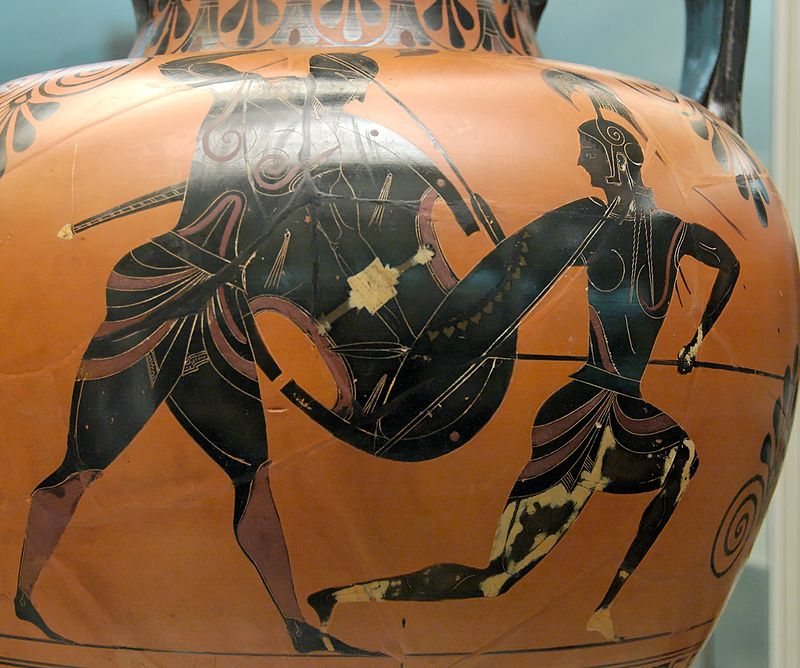Ancient Greek shields