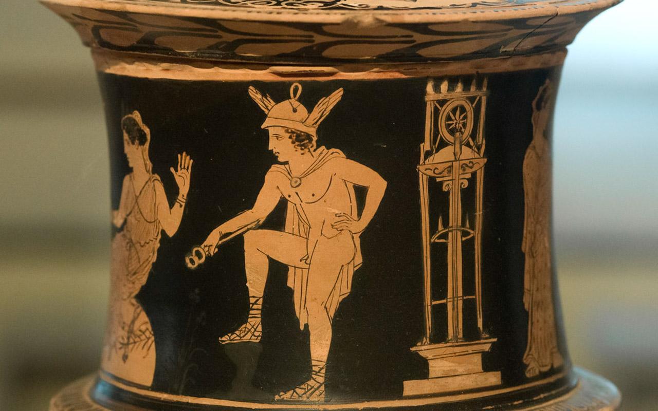 Hermes in Delos.
