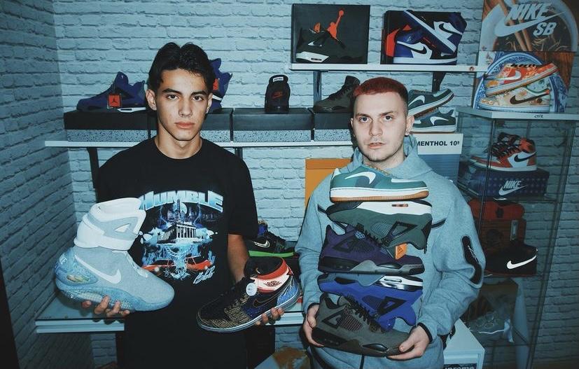 sneaker reseller Greece