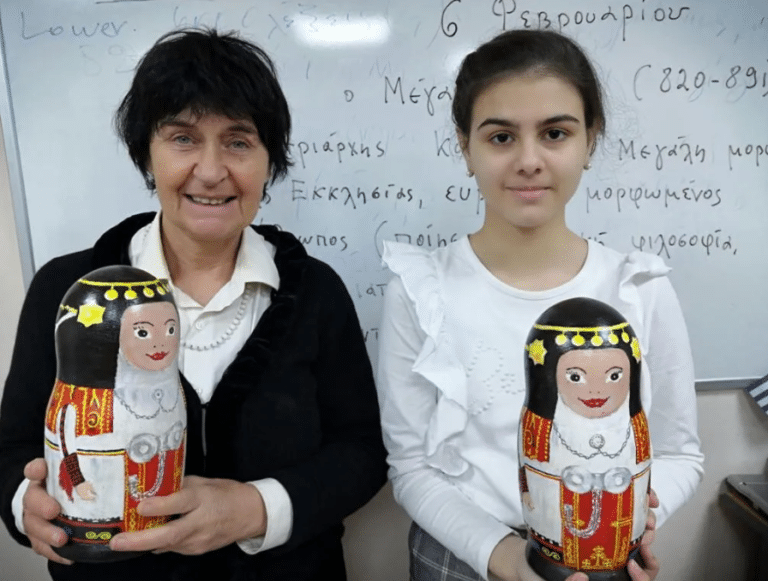 15-Year Old From Moscow Creates a Greek Matryoshka Doll