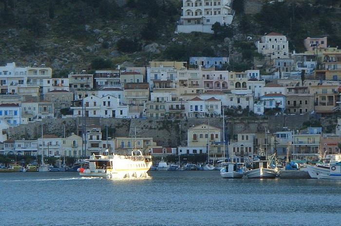 Greece's Kalymnos in lockdown