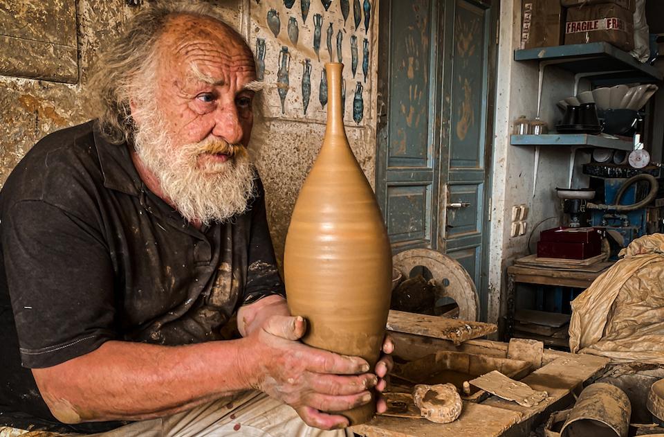 Greek islands pottery