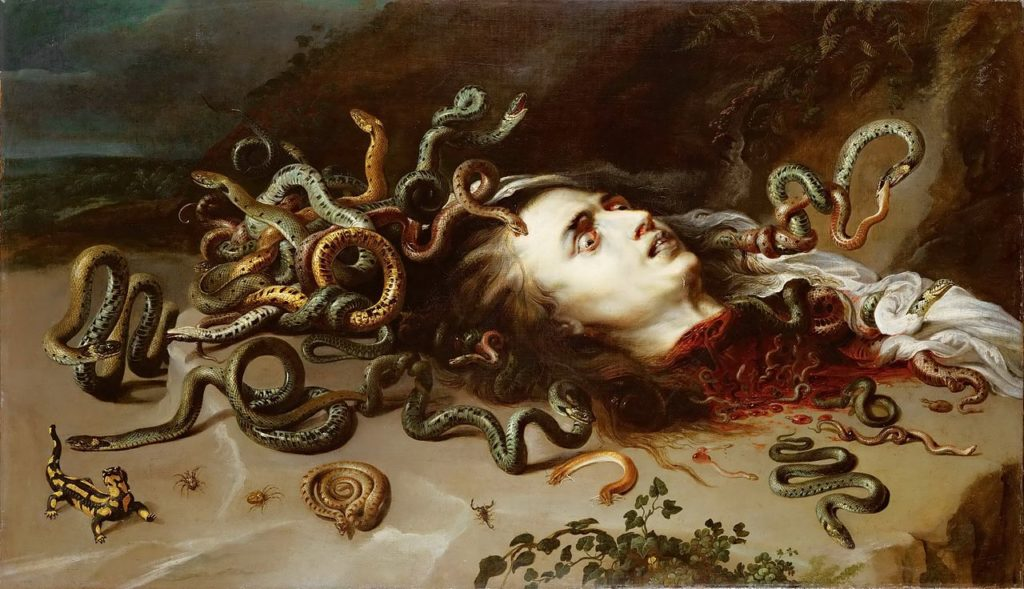 Medusa greek mythology