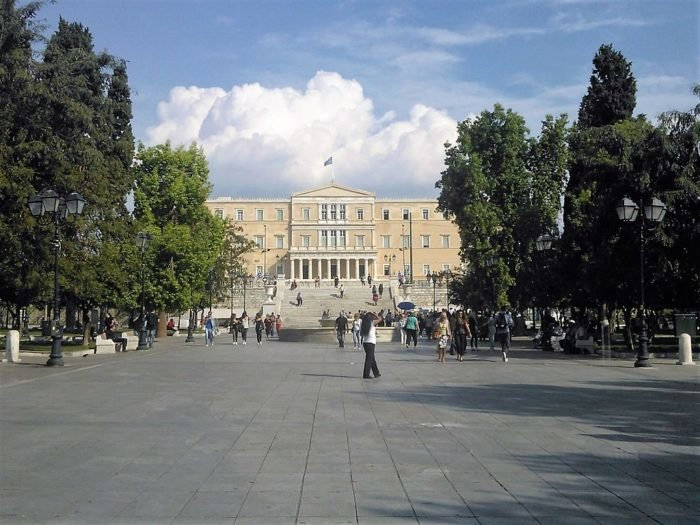History Syntagma Square Athens