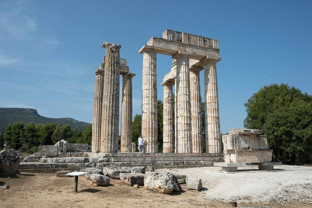 Temple of Zeus at Nemea