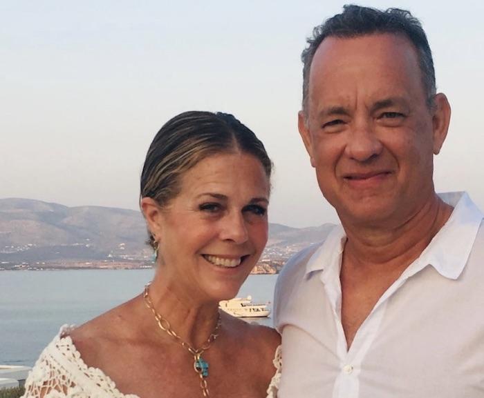 Tom Hanks and Rita Wilson celebrate their 33rd annivesary