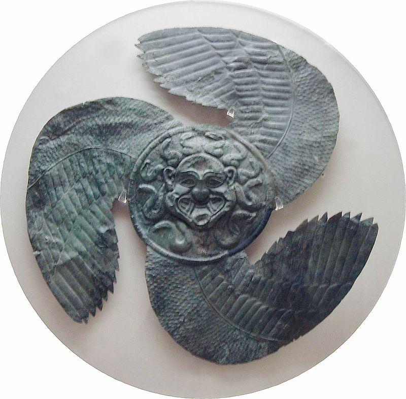 Gorgeoneion Shield greek mythology